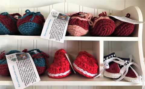 Baby Booties and Toddler Shoes for Your Favorite Baby at Art2Heart in Hamel MN