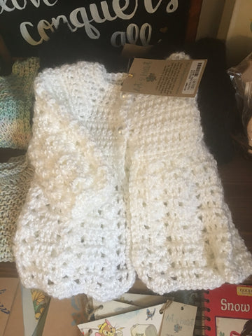 hand-made baby sweater from Art 2 Heart in Hamel MN