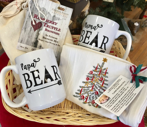 Mugs and Brownies Gift Basket from Art 2 Heart in Hamel MN