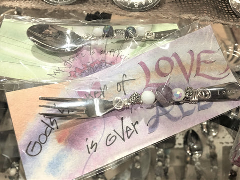 Beaded Flatware from Art2Heart in Hamel MN
