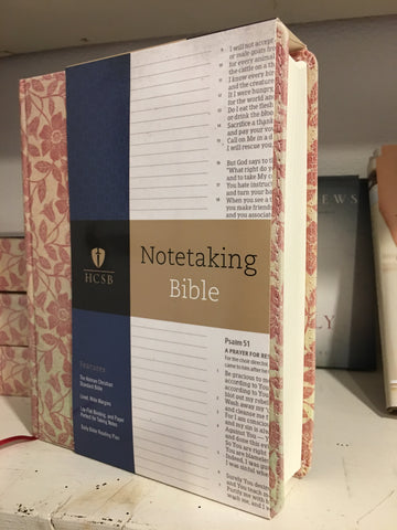 Notetaking Bible from Art 2 Heart Gift Shop in Hamel MN