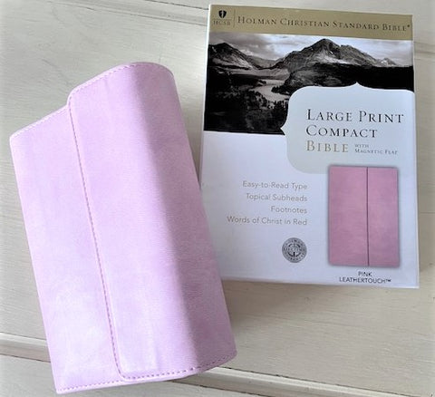 Compact Bible in Pink Case from Art 2 Heart Gift Shop in Hamel MN