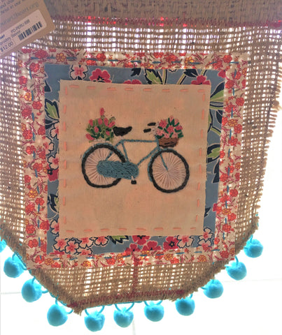 Bike and Burlap Banner from Art2Heart in Hamel MN