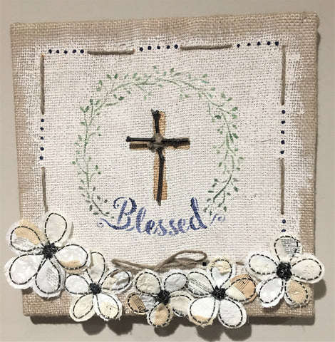 12x12 'Blessed' Wall Art from Art 2 Heart in Hamel MN