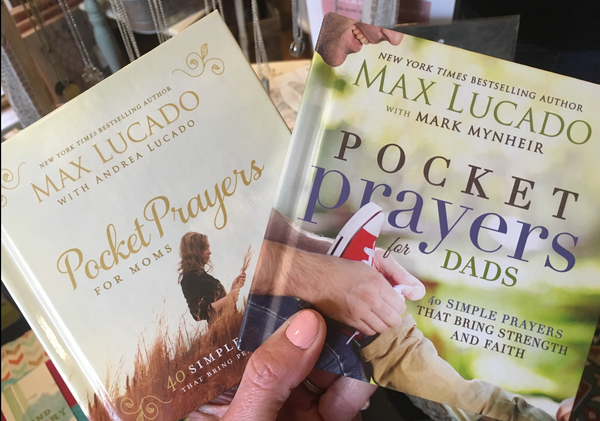 Max Lucado Books - Pocket Prayers - from Art 2 Heart Gift Shop in Hamel MN