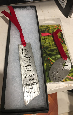 Message bookmarks from Art 2 Heart Gift Shop in Hamel MN