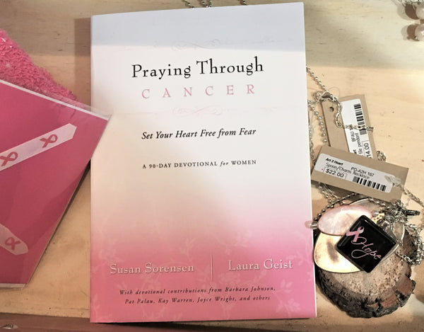 Praying Through Cancer Book from Art 2 Heart Gift Shop in Hamel MN