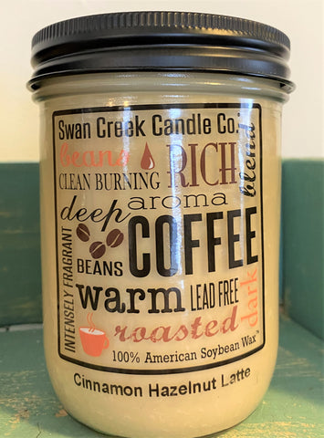 coffee-scented candle available from Art 2 Heart Gift Shop in Hamel MN