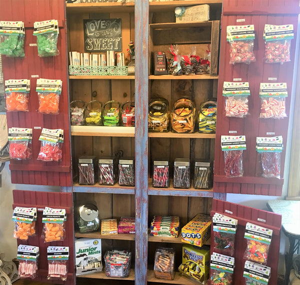 Candy Cupboard at Art 2 Heart Gift Shop in Hamel MN