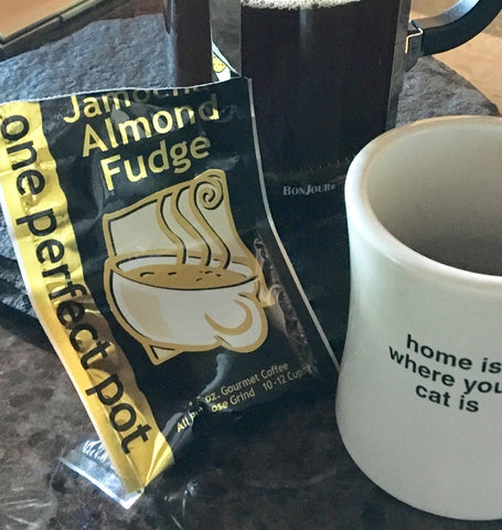 Jamocha Almond Fudge Coffee at Art 2 Heart Gift Shop in Hamel MN