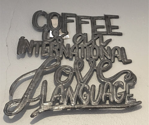 Coffee - Haiti Metal Art at Art2Heart in Hamel MN