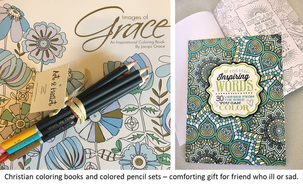 Christian Coloring Books available at Art 2 Heart Gift Shop in Hamel MN