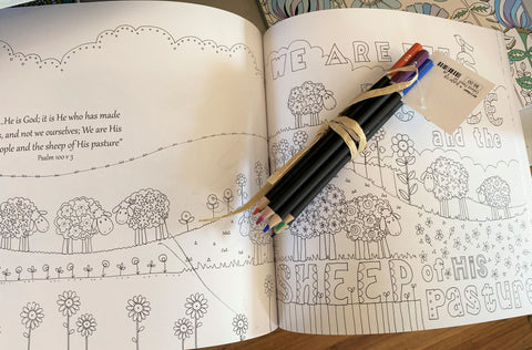 Scripture Coloring Book from Art 2 Heart in Hamel MN
