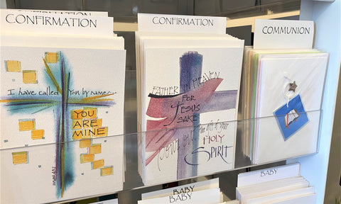 Greeting cards for Baptism from Art 2 Heart in Hamel MN