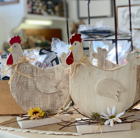 Country Chickens from Art 2 Heart Gift Shop in Hamel MN