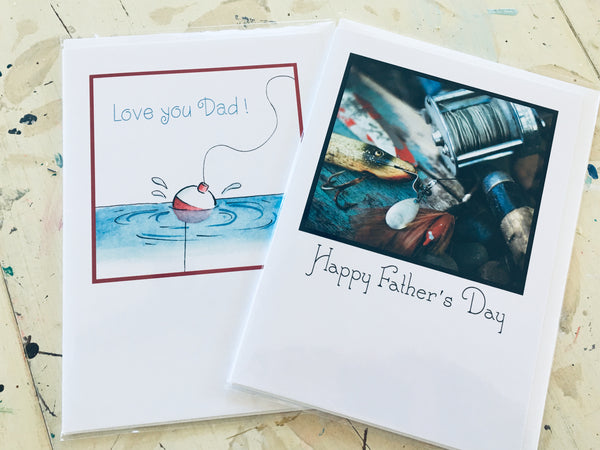 Handmade Fathers Day Cards at Art 2 Heart Gift Shop in Hamel MN