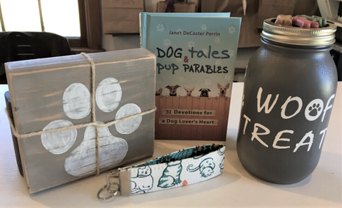 Gift Basket Idea - for the dog lover