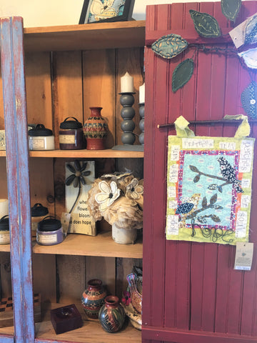 Pottery and candles at Art 2 Heart