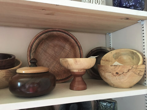 Hand Carved Wooden Serveware