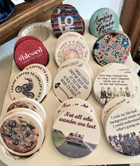 coasters for car cup holders at Art 2 Heart Gift Shop in Hamel MN