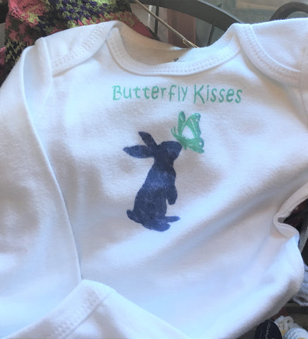 Butterfly Kisses Onsie at Art 2 Heart in Hamel MN