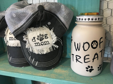 Dog Mom cap from Art 2 Heart Gifts Shop in Hamel MN