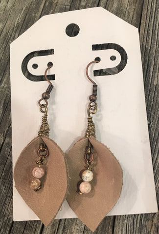 Leather Dangle Earrings from Art 2 Heart in Hamel MN