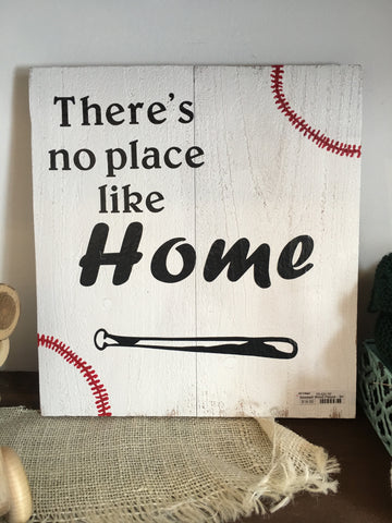 No Place Like Home Wooden Wall Art from Art 2 Heart Gift Shop in Hamel MN