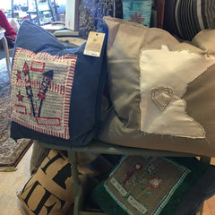 Perky Toss Pillows for Gifting or for Your Home - at Art2Heart Gift Shop