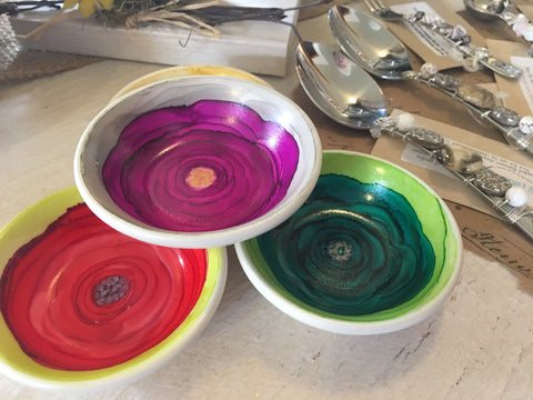 Tiny bowls from Art 2 Heart Gift Shop in Hamel MN