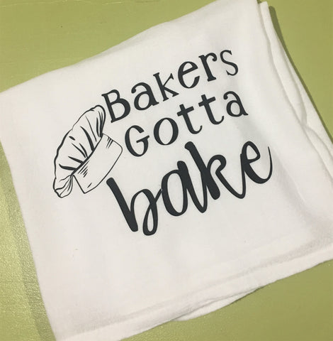 Bakers Tea Towel from Art 2 Heart Gift Shop in Hamel MN