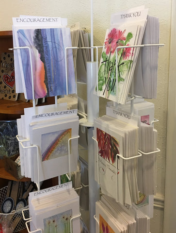 watercolor greeting cards at Art2Heart in Hamel MN
