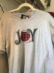 JOY T-shirt for Christmas at Art 2 Heart Gift Shop in Hamel MN