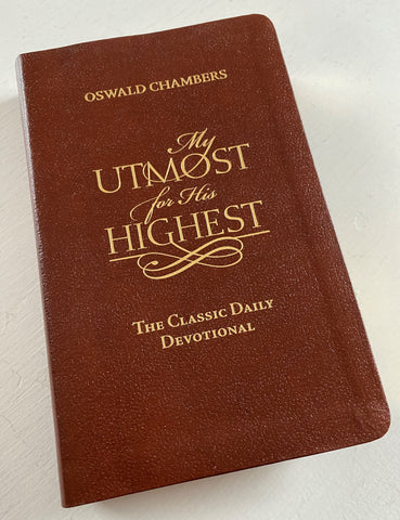 My Utmost for His Highest by Oswald Chambers from Art 2 Heart Gift Shop in Hamel MN