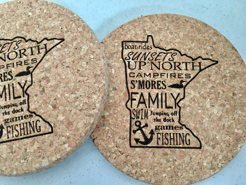 Coasters from Art 2 Heart Gift Shop in Hamel MN