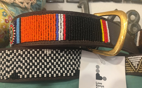 Fancy beaded dog collars from Art 2 Heart Gifts Shop in Hamel MN