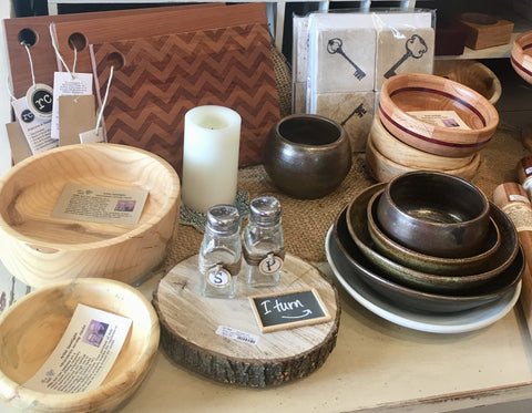 Wooden Bowls at Art 2 Heart