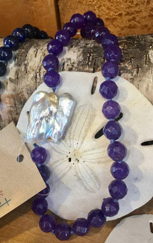 Natural Pearl and Beads from the Art 2 Heart Gift Shop in Hamel MN