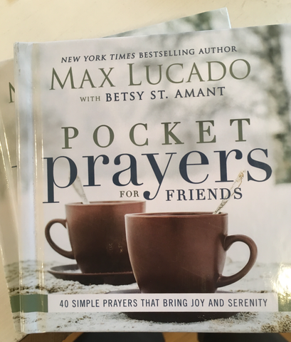 Pocket Prayers by Max Lucado from Art 2 Heart Gift Shop in Hamel MN
