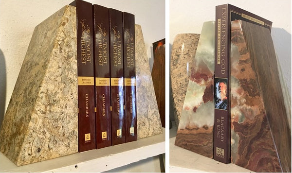 Marble Bookends from Art 2 Heart Gift Shop in Hamel MN