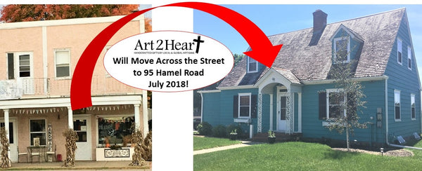 Art 2 Heart will move to a new location in July 2018 - 95 Hamel Rd