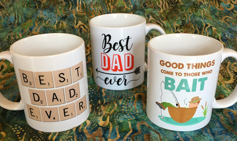 Coffee Mugs for Dad at Art 2 Heart Gift Shop in Hamel MN