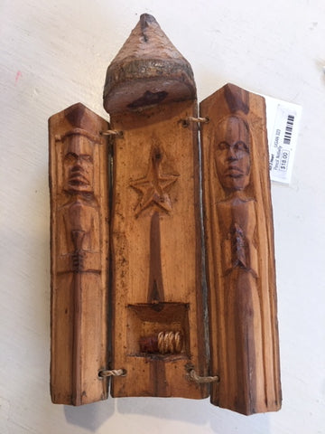 Carved Wooden Nativity from Art 2 Heart Gift Shop in Hamel MN
