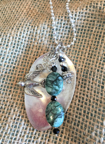 Spoon-Charm Necklace from Art2Heart in Hamel MN