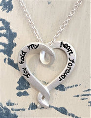 Necklace - You Hold Me in Your Heart - at Art 2 Heart Gift Shop in Hamel MN