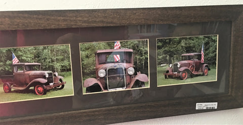 Americana Photos of antique car by Minnesota artist from Art 2 Heart Gift Shop in Hamel MN