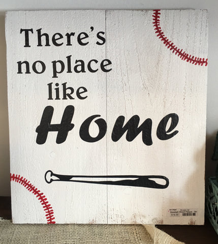 Theres No Place Like Home Plaque from Art 2 Heart Gift Shop in Hamel MN