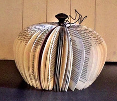 Make this cute book pumpkins at Wonderfully Made on Sept 15 in Hamel MN