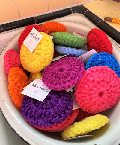 scrubbies from Art 2 Heart Gift Shop in Hamel MN