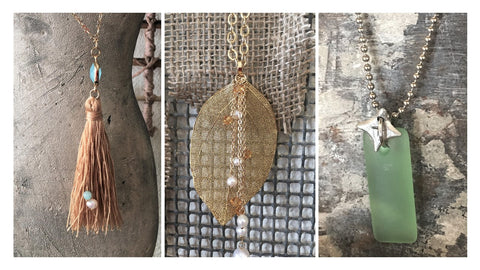 Springtime Pendant Necklaces at Art2Heart